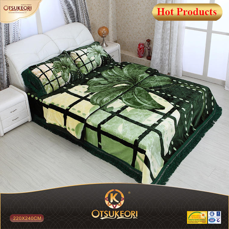 China american blanket and modal 4 pcs set.