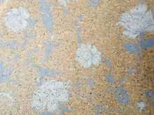 RUIQIN printing cork wallpaper
