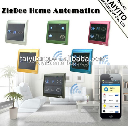 TYT mobile phone knx z-wave home automation system wifi for led bulb domotic zigbee home automation system wifi