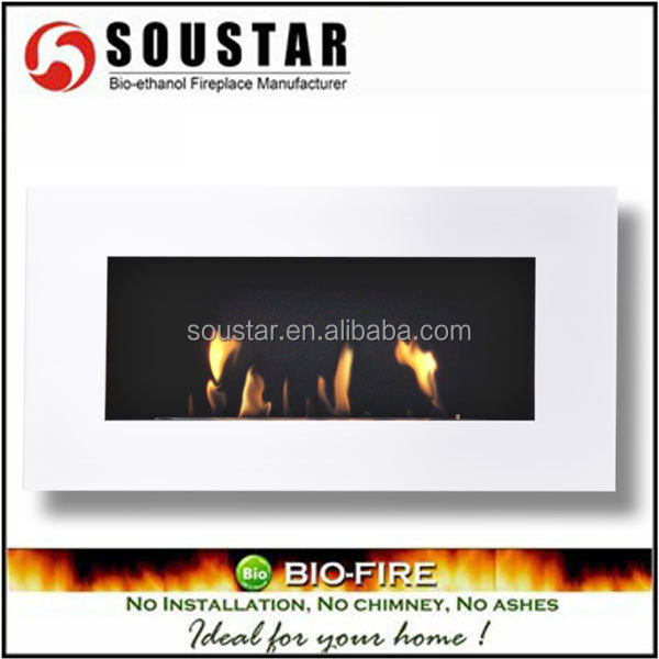 2016 made in china home wall mounted fireplace insert bio burner