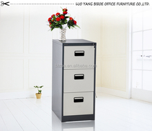 vertical 3 drawer hanging steel file cabinet