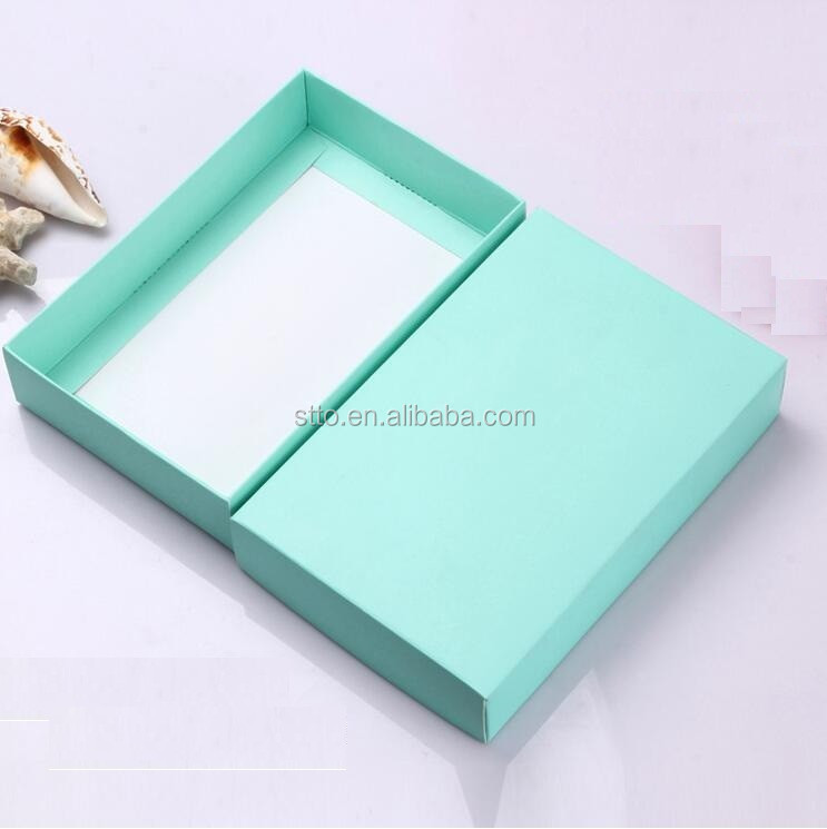 Pink/ tiffany blue carton gift boxes Cardboard packaging box for underwear/clothes/Socks/scarves,storage box