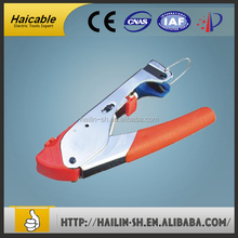 TL-518A hand crimper pliers Strapping Crimping Tool RG59 RG-6cordless hydraulic crimping tool F Connector Compression Tool