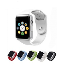 A1 Smart Watch with sim card and sd card micro slot for iPhone iOS and android brand phones