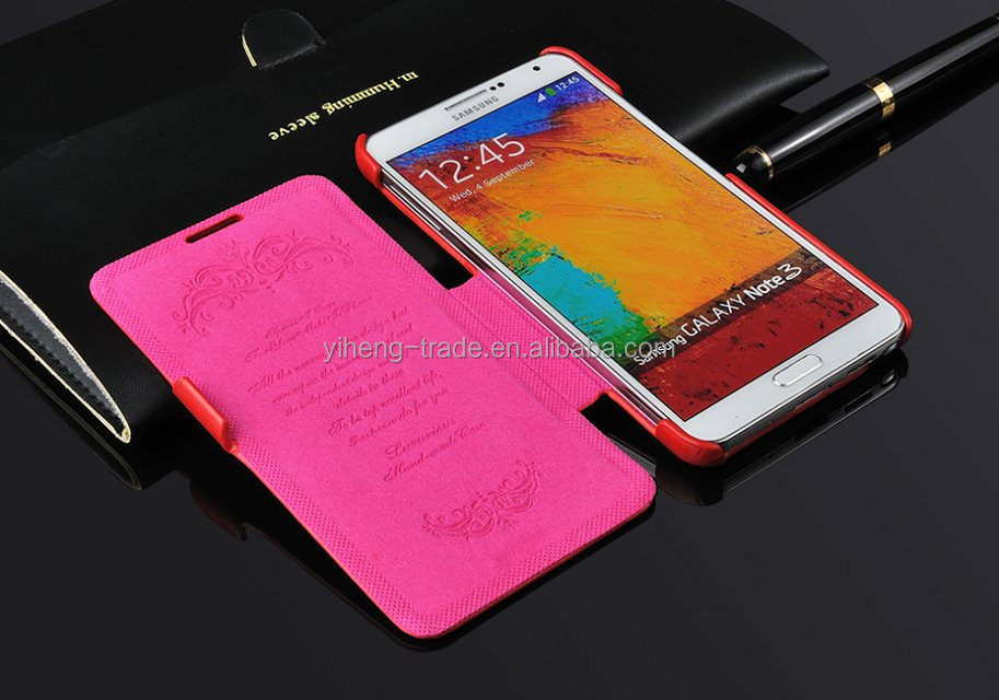 Vintage Wallet with Stand Leather Case for Samsung Galaxy Note 3 N9000 Flip leather cover case