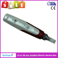 Nanometer Micro Needle Derma Pen With 12 or 36needles// Best Micro Stamp Derma Pen Meso Pen