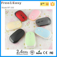 cheap wireless rainbow optical mouse