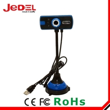 Wholesale Guangzhou factory price HD free driver USB 2.0 led light webcam