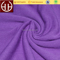 Soft T R 65% polyester 35% rayon blend jersey knit polyester rayon spandex fabric