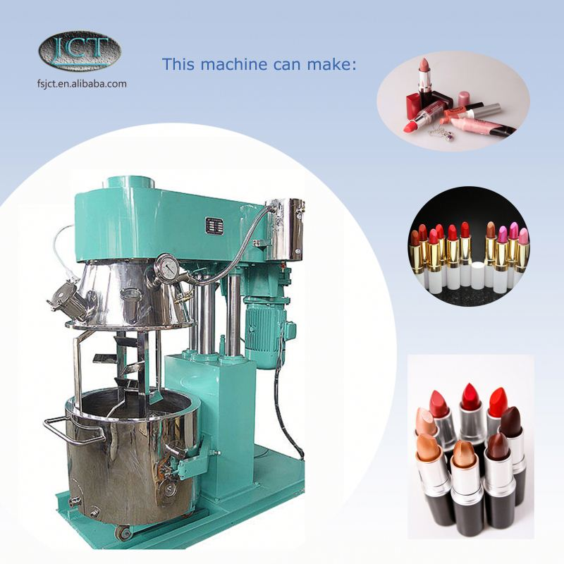 JCT mary kay cosmetics making planetary mixer