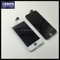 tianma,jingdongfang,longteng,shenchao chinese lcd for iphone 5 5g black digitizer touch screen assembly