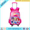 Hot sale school trolley bag for girls children school bag