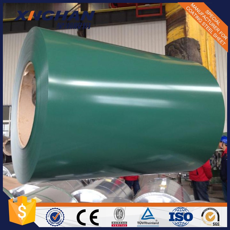 Prepainted Galvanised Steel Coil/PPGI/Corrugated Roofing Sheets Coil--China factory with low price