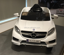 2.4G RC 12V License Mercedes-Benz GLAX 45AMG ride on car
