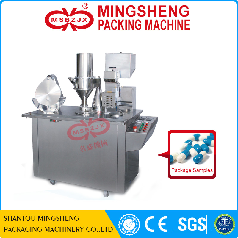 JX040 Semi-automatic blister filling machine capsule blister packing machine