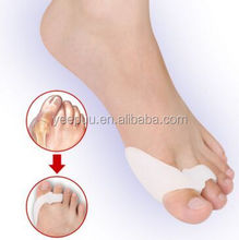 easy to carry soft silicone Gel Foot toe Separator