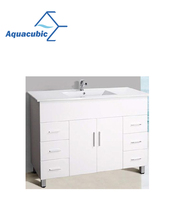 48 Inch Bathroom Vanity Cabinet in White Finish