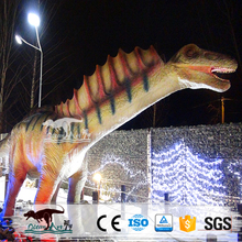 OA J8127 Full Size Dinasour Robot For Theme Park Exhibition