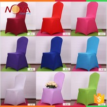 Fashionable design direct factory made custom wholesale beauty salon rosette chair cover
