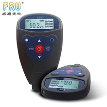 FRU 0-1500um F & NF probe aluminum foil thickness gauge WH83 Showing average, <strong>max</strong>, min value