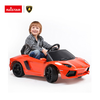 Rastar kids toys newest licensed electric remote control ride on car