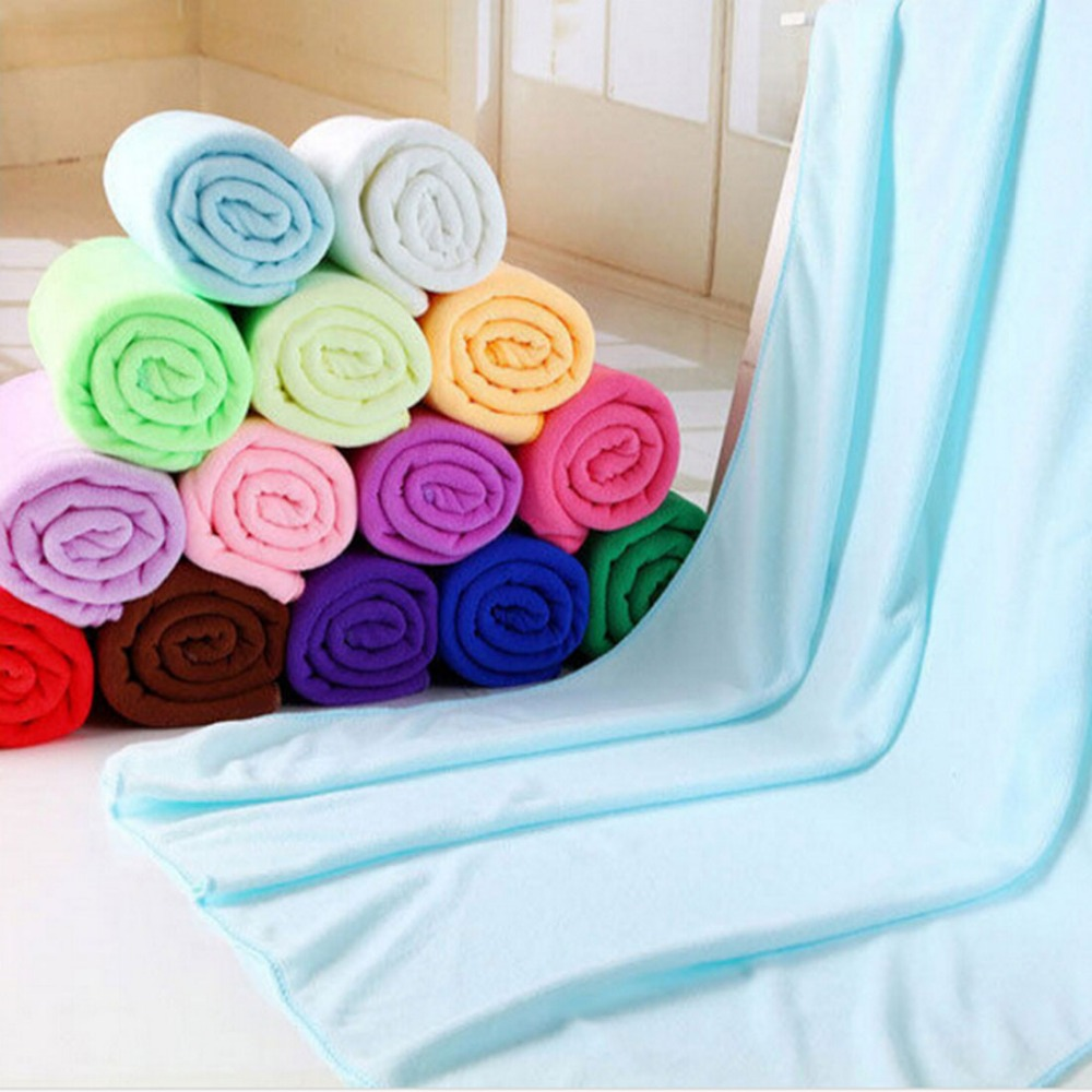 Household Microfibre Bath Towel Soft Drying Hair Shower Beach towel