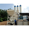 HZS50 skip hoist concrete batch plant in Malaysia with CE ISO
