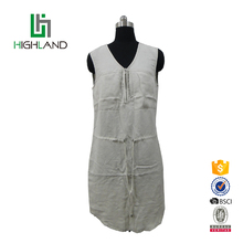 Latest design custom wholesale sleeveless sexy summer short women dress
