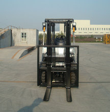 3.5 Ton Electric Forklift Lifting 4.8m with Triplex Mast with Front Window with Viper