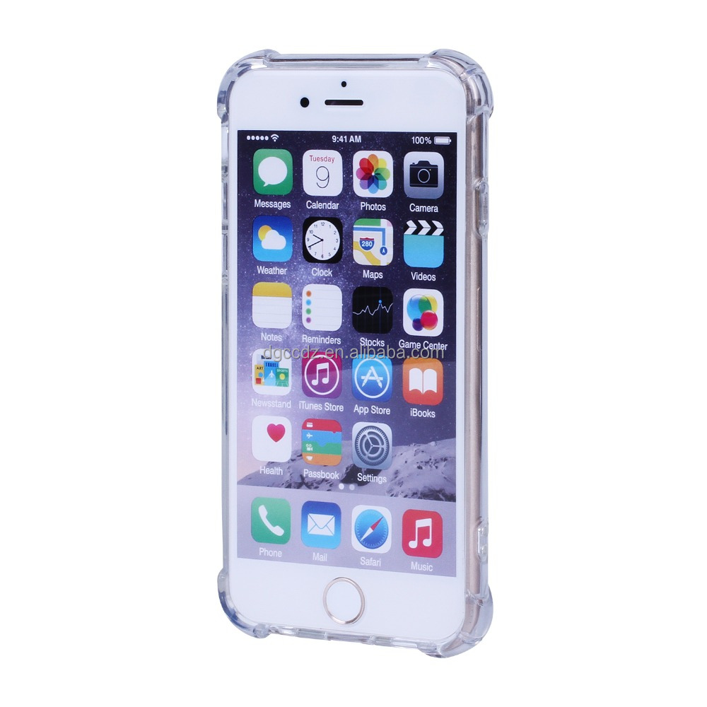 Best selling items mobile phone shell for iphone, ultra thin transparent crystal tpu hard case for iphone 6 6s