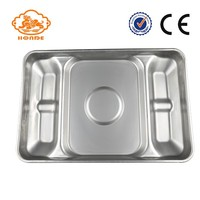 durable SST pig feeding pan square