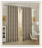 one side shiny one side suede velvet jacquard waterproof luxury drapes curtain