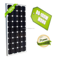 kyocera 100w flexible mono solar panel for mobile home power system in china