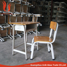 School Metal Wooden Cheap School Desk And Chair Set