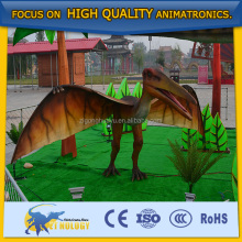 Adult park equipment flying dinosaur toy model