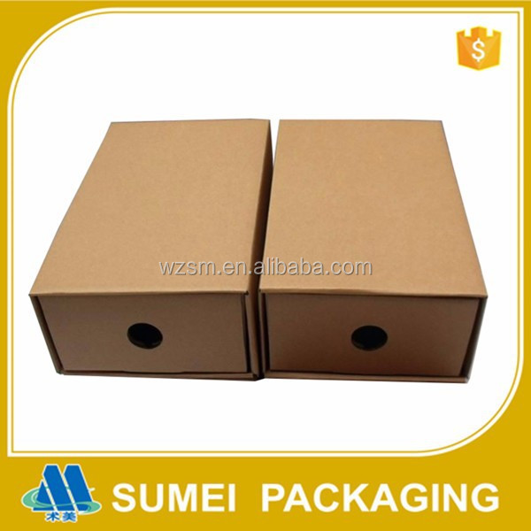 Custom high quality Package Recycled Shoes Paper Box