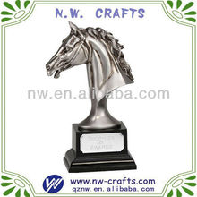 Hot selling polyresin horse head