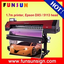 Factory price Funsunjet FS1700M 1.7m 3d iphone case sublimation printing machine fast printing speed 1440dpi