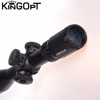 Waterproof fogproof illuminated hunting tactical shooting button switch riflescope
