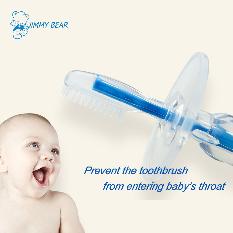 Silicone kids protection tooth brush for baby