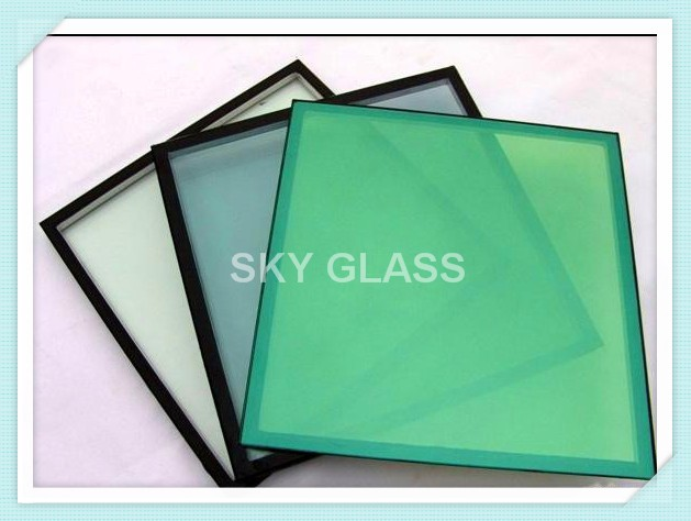 Energy Saving Vacuum Insulated Glass/Skylight Triple Double Glazing Glass / Low E Coating Glass Panels Standard Sizes