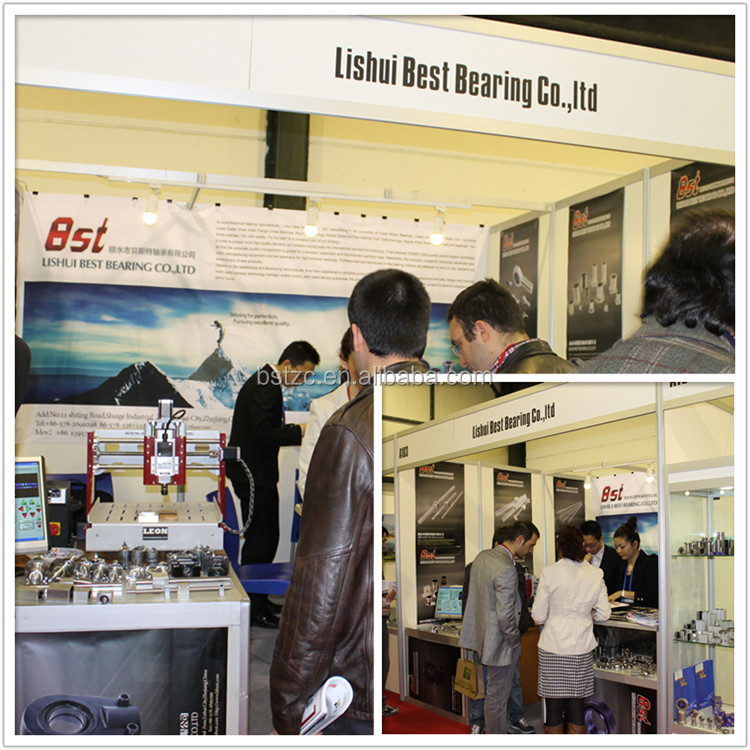 Lishui BST Bearing round flange type linear bearing flange linear bearing series LMF8UU