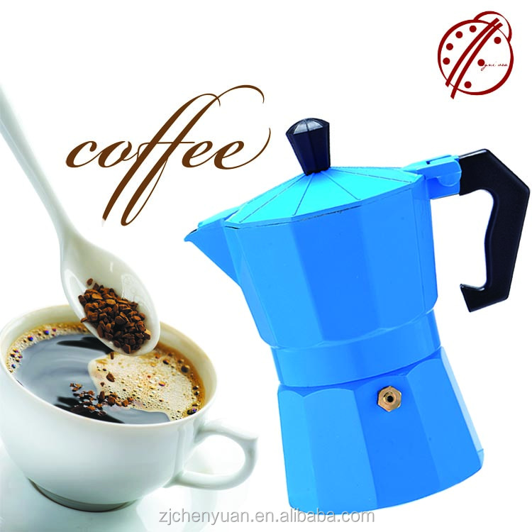 Greek Coffee/ Aluminum Italian Espresso Moka Coffee Maker