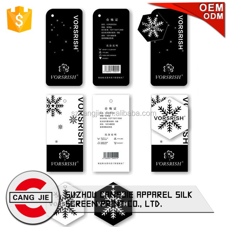 Custom High Quality Product Tag