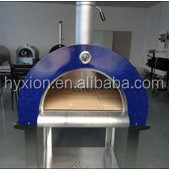 stainless steel wood fired pizza oven with Vermiculite board