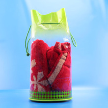 Travel Cylinder Makeup Bag Wash Toiletry Bag Case Pouch Bathroom Organizer with drawstring