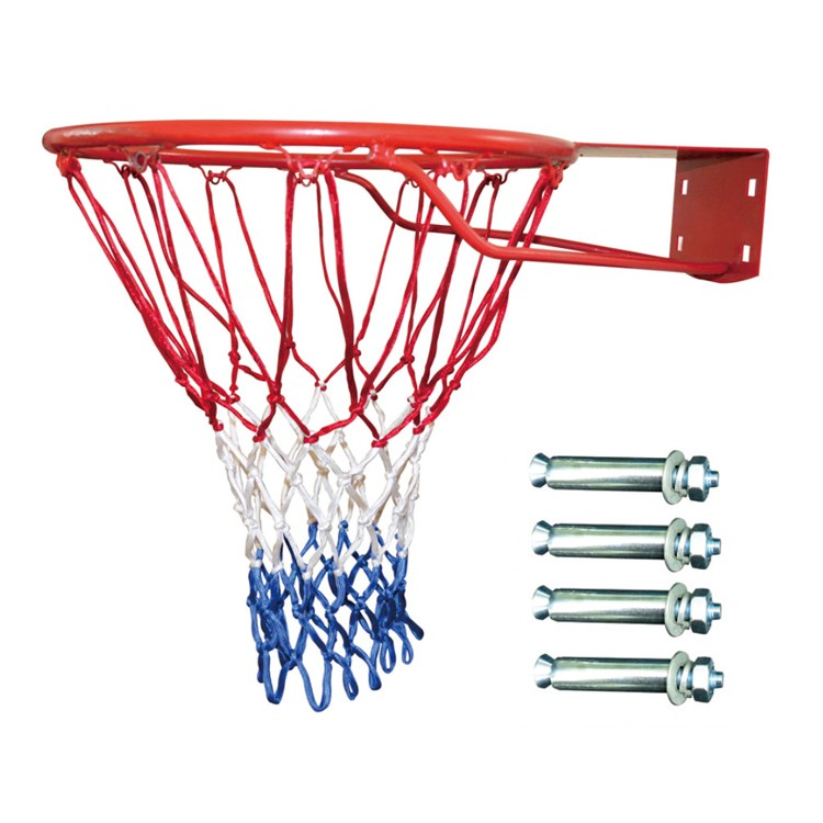 adjustable height steel basketball hoop