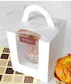 handmade cake slice paper gift box