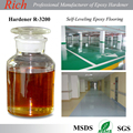 Epoxy Flooring Coating Curing Agent, Modified Aromatic Amine Self Leveling Epoxy Resin and Hardener R-3200