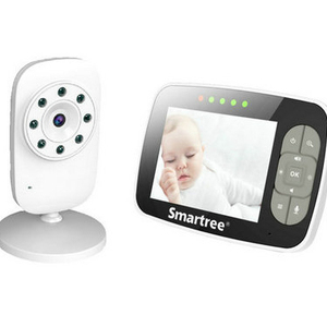 "China factory supply High quality baby monitor Wireless Digital Baby Monitor with 3.5"" LCD Display"